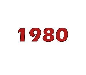 Number 1 this week in 1980