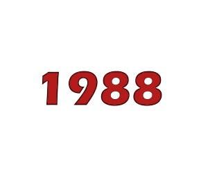 Number 1 this week in 1988